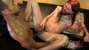 Murphy Rocker Dude Gets Plunged by a Big Black Dick