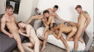 Big Dicked Orgy