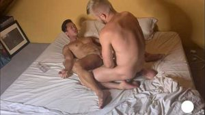 Logan Stevens with another muscle stud, but ends up being the bottom bitch! I like to go somewhere warm when winter arrives. I hate cold weather.