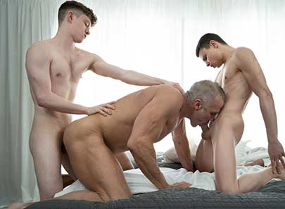 Sports Camp can be hard on the body of a young twink, and that's why it's important the boys find time to relax and unwind. When they're not training their bodies on the track or in the field...