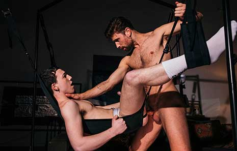 "School is in session for some sex education in the ""What's Your Kink?"" second series finale! The teacher is sexually well-versed Drew Dixon whose pupil Troye Jacobs gets his first sling experience!."