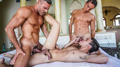 Oliver Hunt and Manuel Skye have had an on-again, off-again kind of a relationship for awhile now. Sometimes Oliver slips away for a fresh experience, like he did with Sergeant Miles.