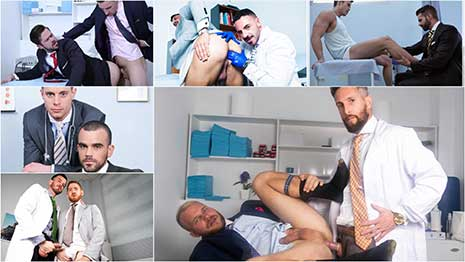 The Best MENatPLAY Examinations Compilation is a bonus compilation of our top favorite movies featuring medical examinations. This collection is dedicated to our fans who share our passion for prostate fingering and exams, doctors and patients, and checkups.